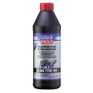 Fully Synth Gear Oil (GL5) LS 75W140 -1l