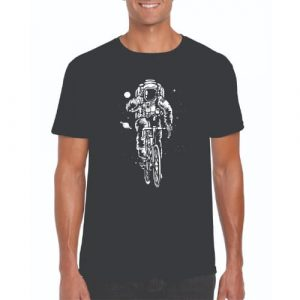 Cycling Rocketfuel T-shirt Black Large