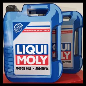 Lightbox Motor Oil Design