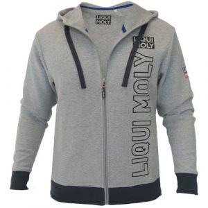 Zip Hoody Men grey – L